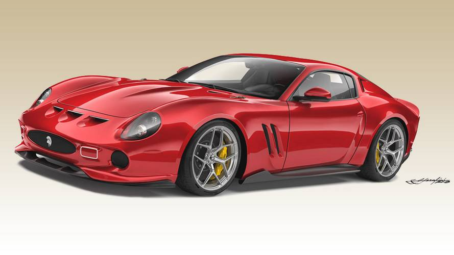 Ferrari 250 GTO by Ares Design is a coach-built 812 Superfast