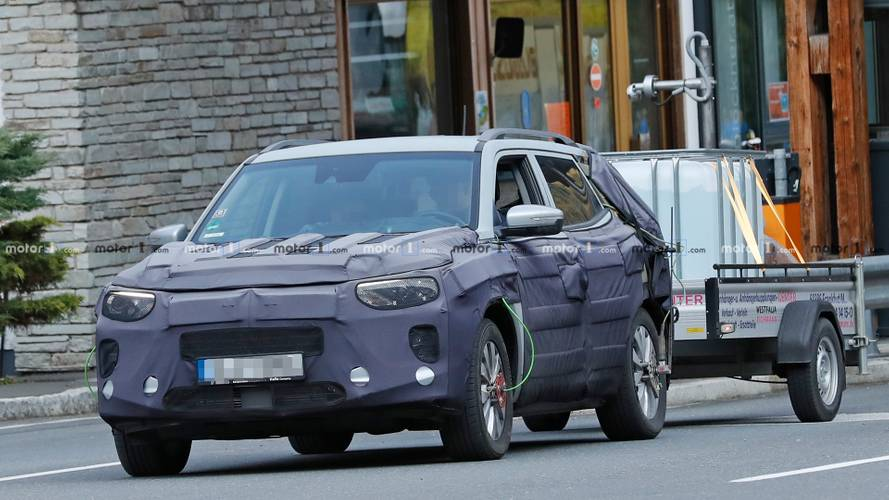 2019 Ssangyong Korando Spy Photos
