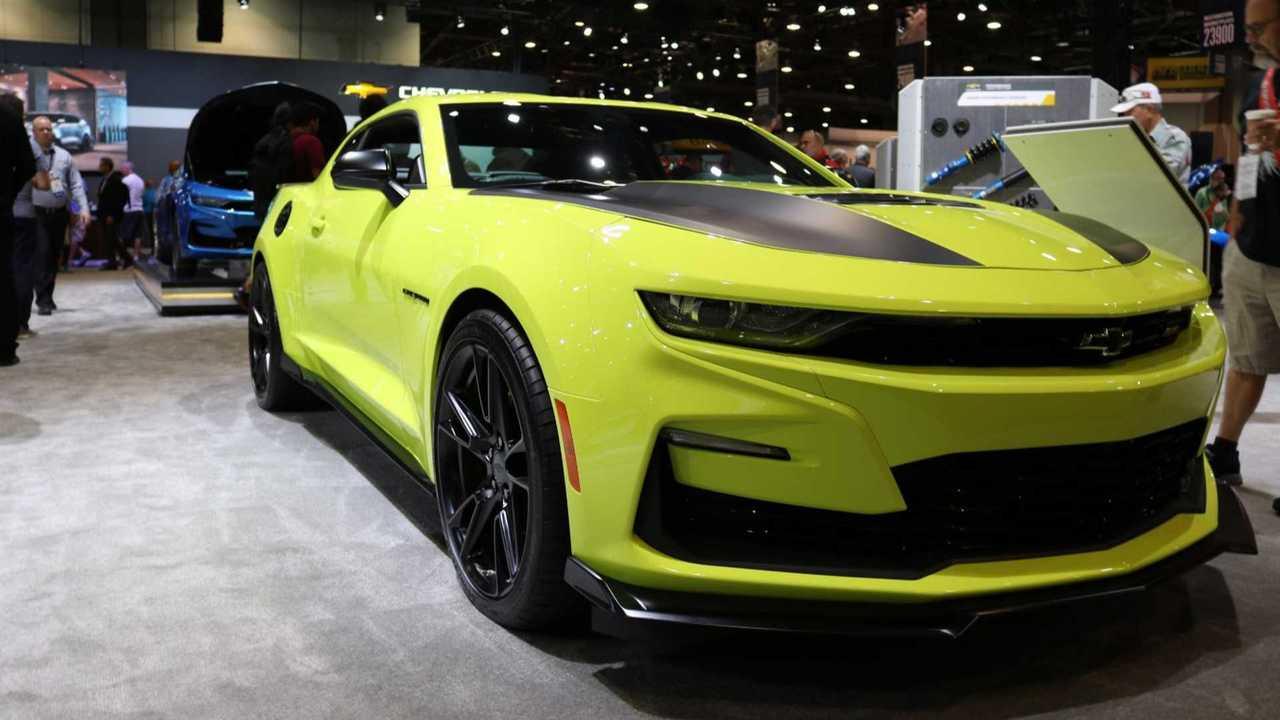 2019 Chevrolet Camaro Shock At SEMA