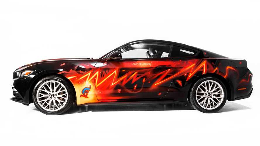 Ford Mustang #FightTheDarkness, a Lucca c'è un nuovo un supereroe