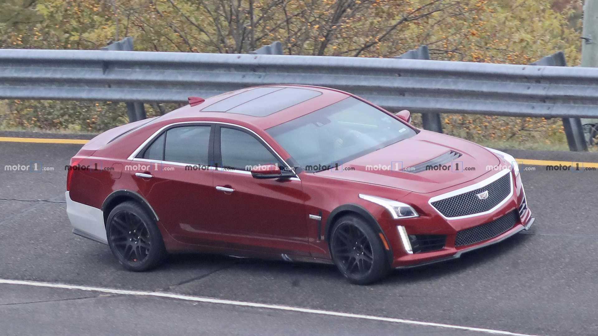 Cadillac Ct5 V Or Widebody Cts V Spied In Mysterious Photos