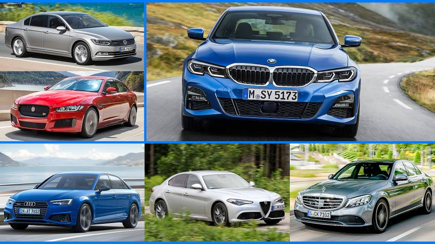 Here are 9 competitors for the new 2019 BMW 3 Series