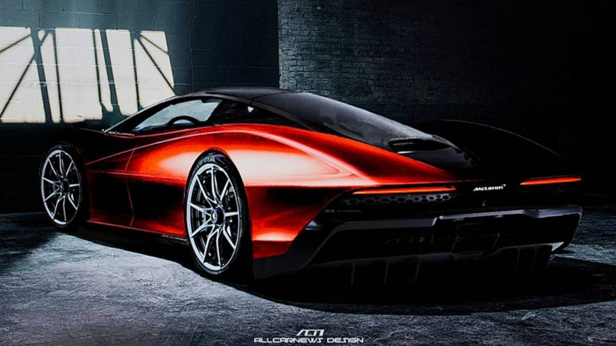 McLaren Speedtail Rendering