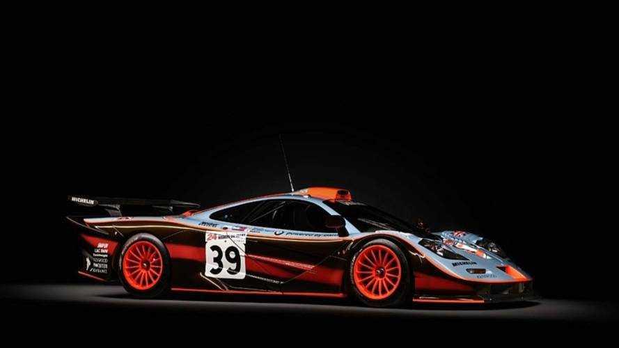 McLaren F1 GTR 25R 1997 restaurée