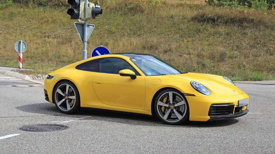 Porsche 911 (2019) fast ungetarnt