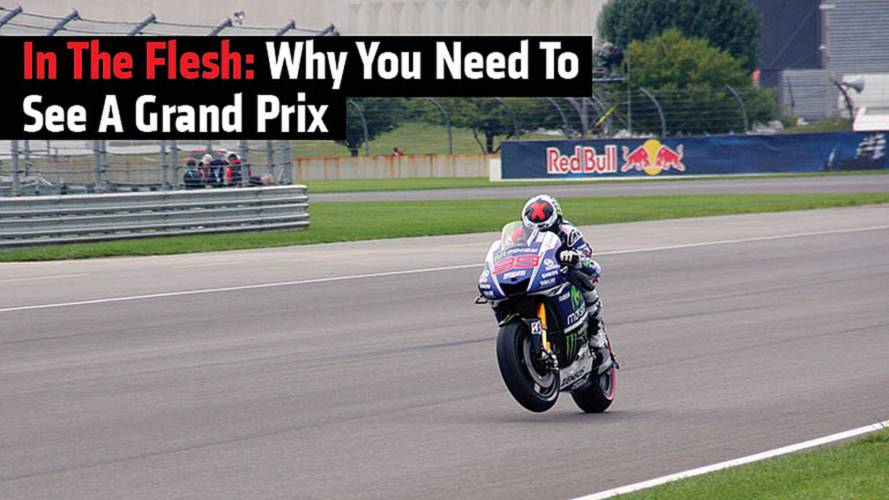 In The Flesh: Why You Need to See a Grand Prix