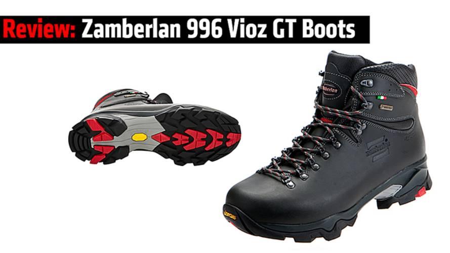 Review: Zamberlan 996 Vioz GT Boots