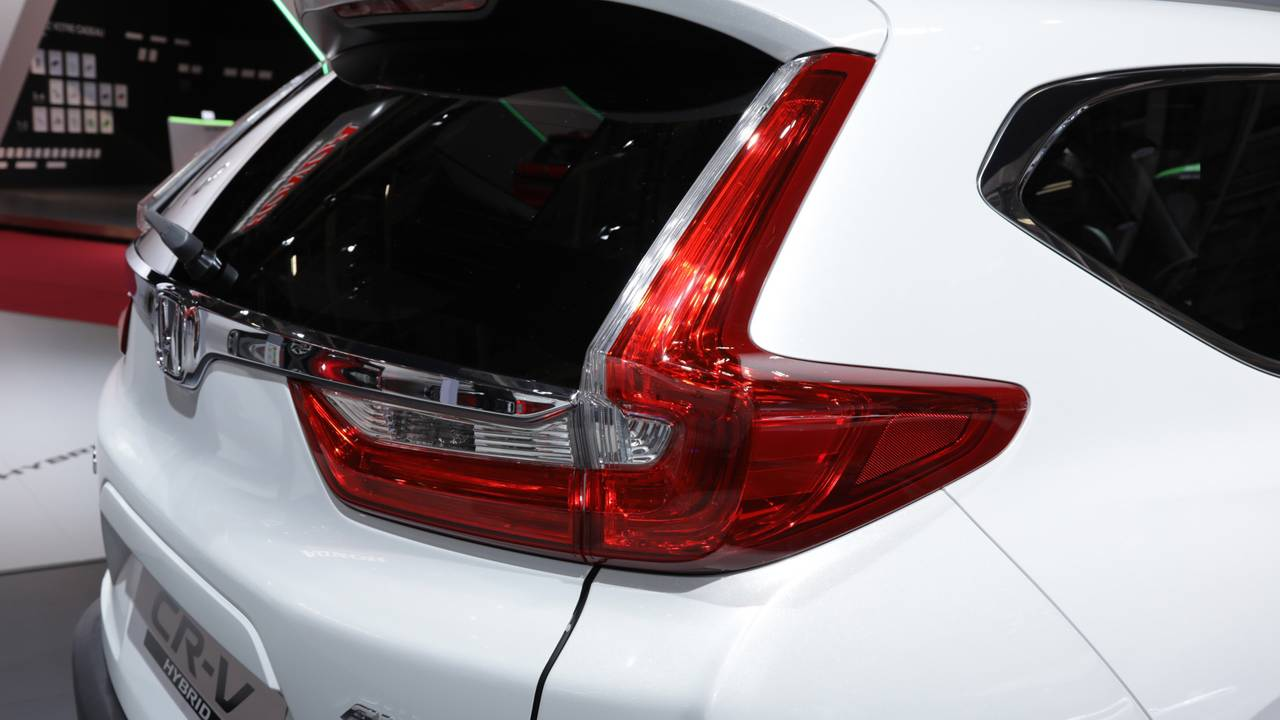 2019 Honda CR-V, Paris Otomobil Fuarı'nda