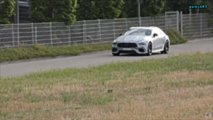 Mercedes-AMG GT 4-Door Coupe prototype spy photo