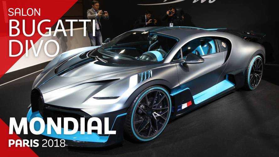 VIDÉO - La Bugatti Divo en direct du Mondial 2018