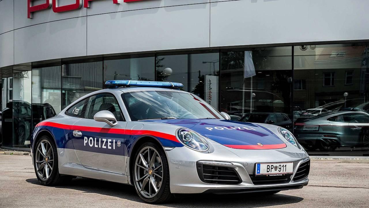 Porsche 911 : police autrichienne