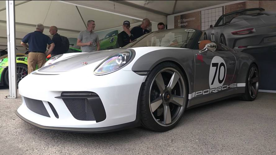 Watch Porsche Extensively Detail The 911 Speedster Concept