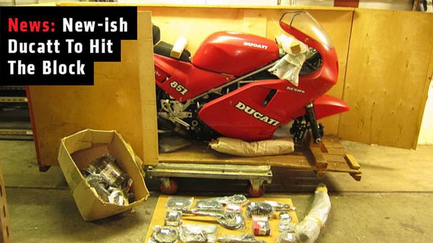 News: New-ish Ducati 888CCTo Hit The Block