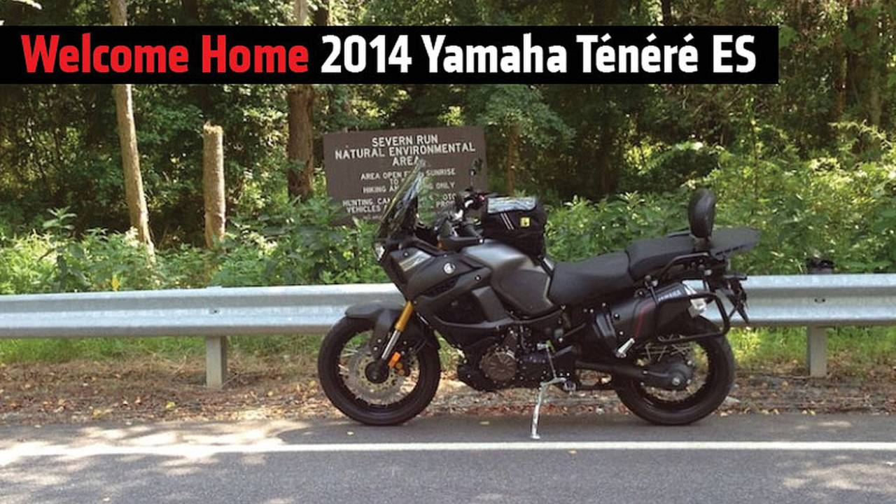 Welcome Home 2014 Yamaha Ténéré ES