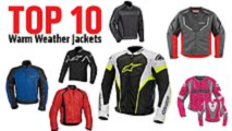 top 10 jackets for warm weather