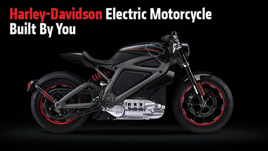 Harley-Davidson Electric Motorcycle Built By You