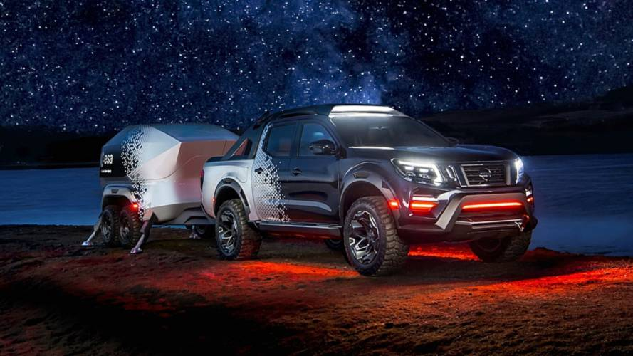 Nissan Navara Dark Sky Concept Is A Space Observatory On Wheels
