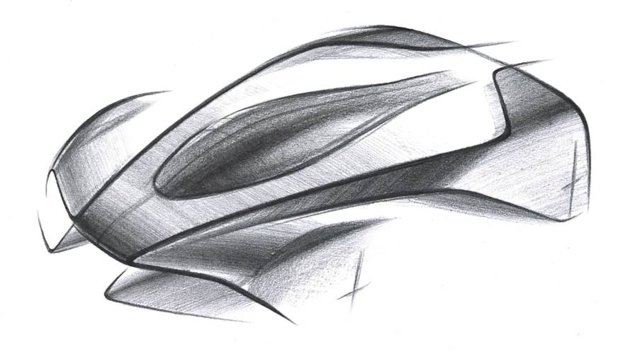 Aston Announces Project 003 Hypercar, All We Get Is This Sketch