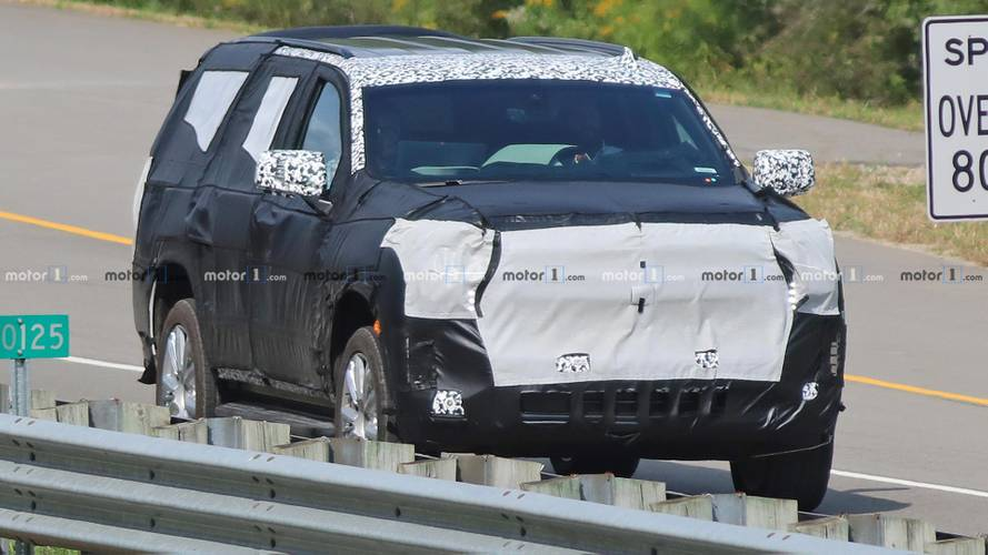 Next-Gen Chevrolet Tahoe Spy Shots
