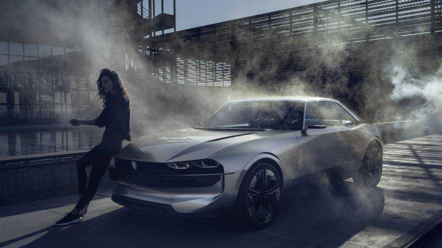 Retro dizájnt visz az utakra a Peugeot tanulmánya