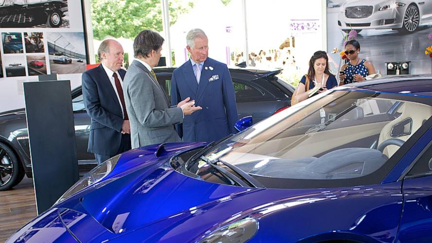Prince Charles buys a Jaguar I-Pace