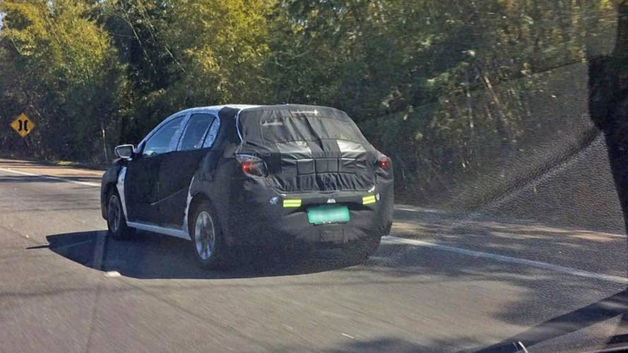 Flagra Novo Chevrolet Onix 2020