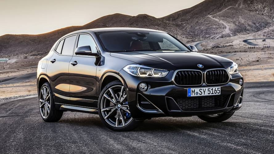 BMW X2 M35i revealed as new range-topping model