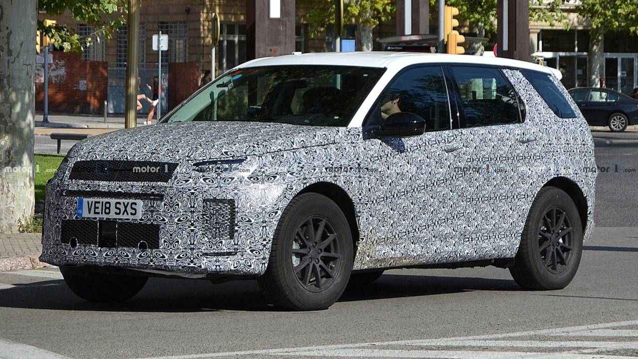2019 Land Rover Discovery Sport Spy Photo
