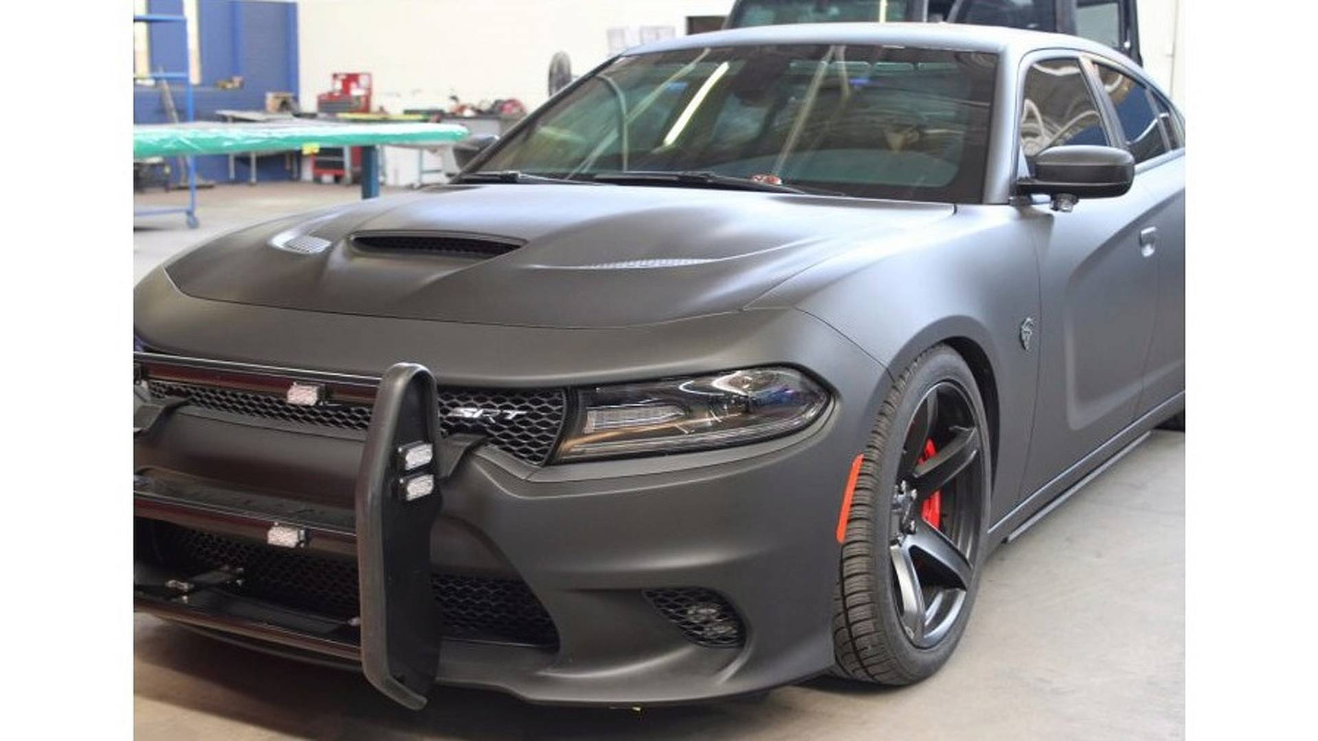 Awd Dodge Charger Srt Hellcat Reporting For Police Duty