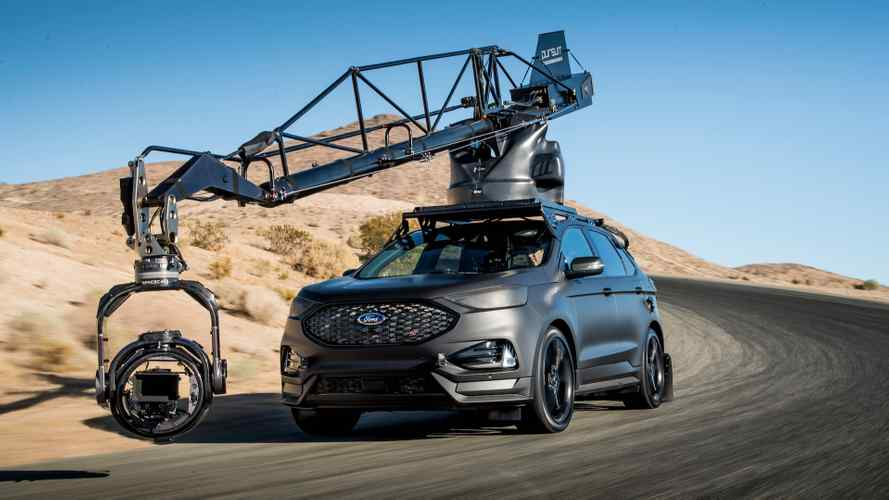 Ford Edge ST, şimdiden film sektörüne girmiş