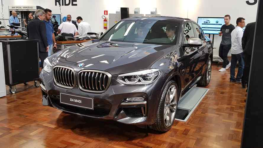 Novo BMW X4 2019 chega em pré-venda com preço inicial de R$ 334.950