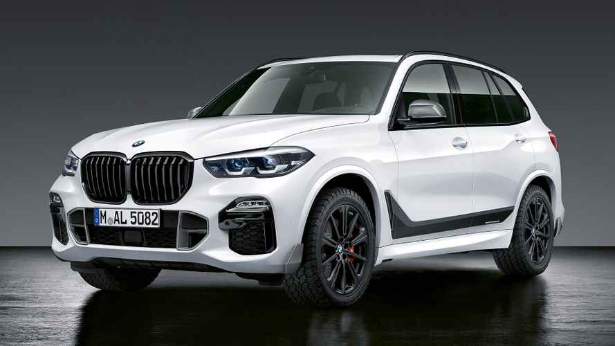 BMW dresses up new X5 in M Performance Parts
