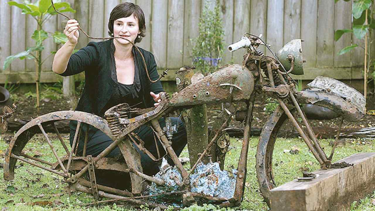 Unknown 20s-era Garden Bike