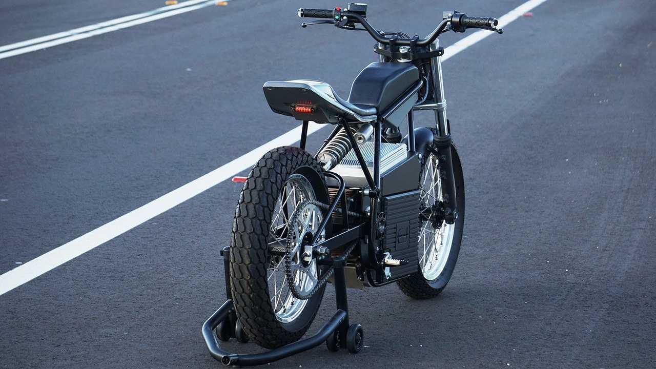 Ed Motorcycles: Concept Z - Rear