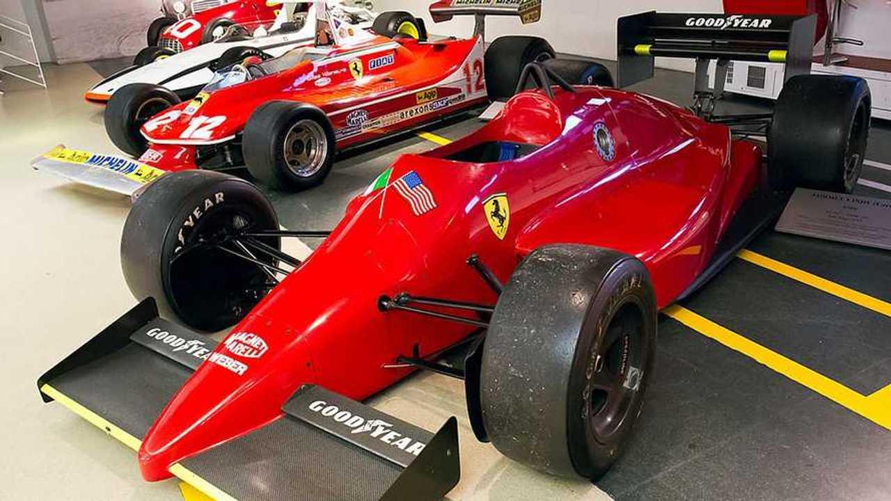Ferrari 637 at the Ferrari museum 2017