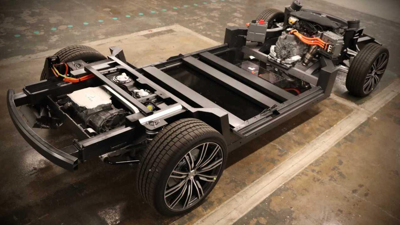 Karma extended range AWD E-Flex platform