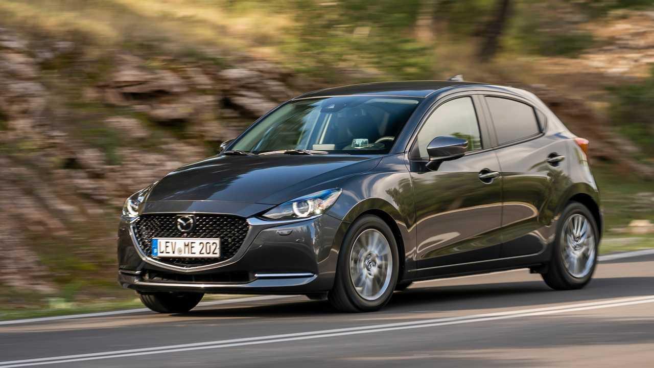 Mazda 2 Facelift: Der mit dem serienmäßigen LED-Licht