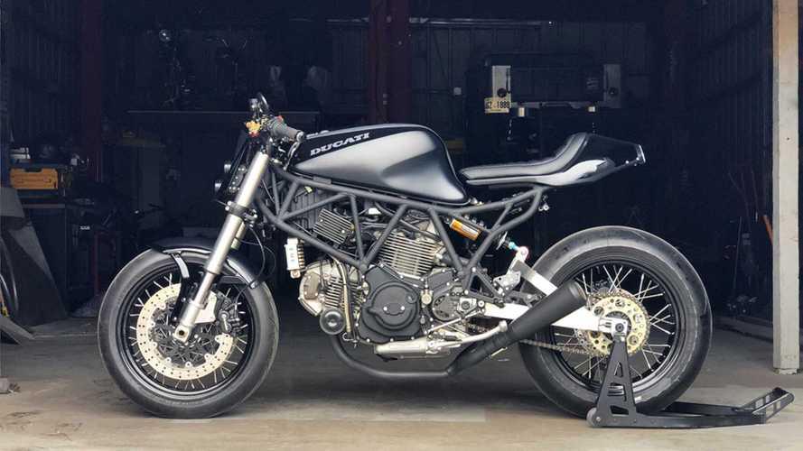 Stunning Custom Ducati 750 SS Streetfighter