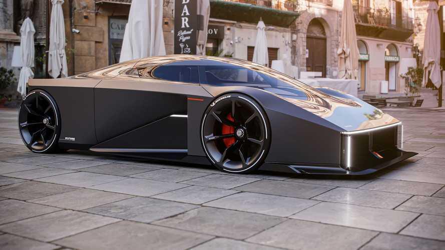 El nuevo concept car de Koenigsegg tiene tres plazas