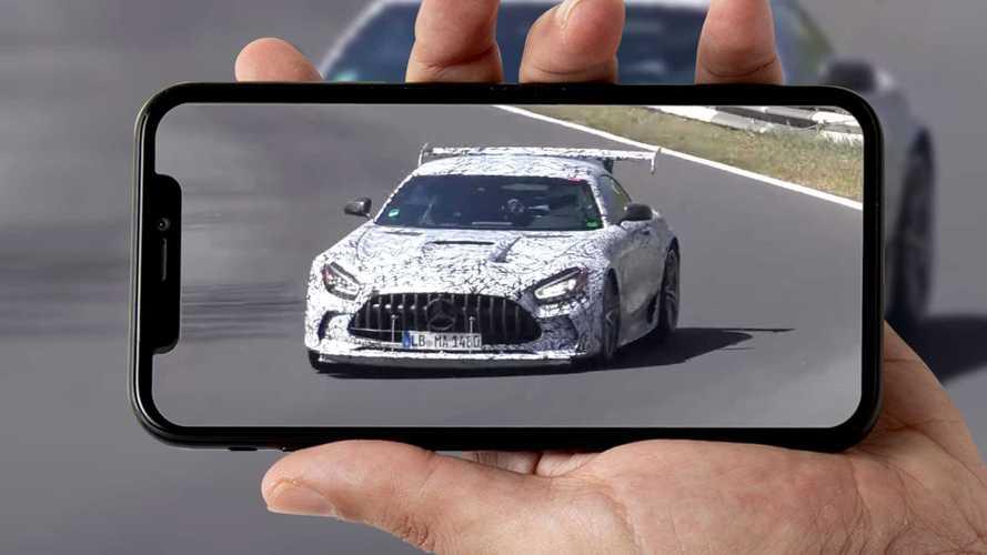 Mercedes AMG GT Black Series, un video ritrae gli ultimi test