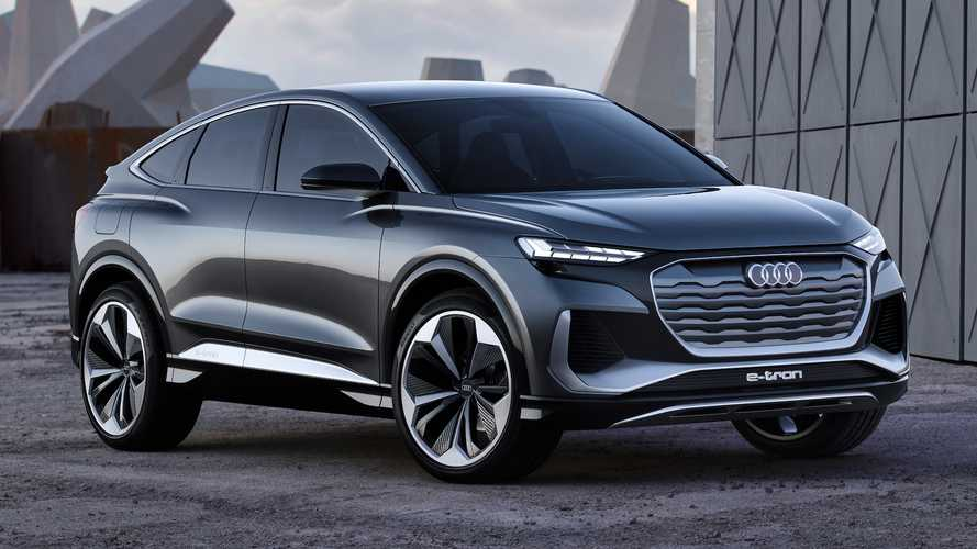 Audi Q4 E-Tron Sportback Concept Debuts With Sleek Looks, 301 HP