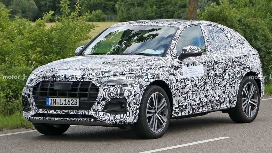 2021 Audi Q5 Sportback spy photos