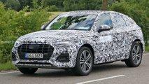 2021 Audi Q5 Sportback spy photos