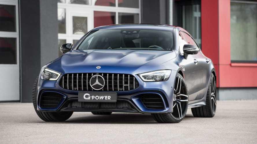 El Mercedes-AMG GT 63 alcanza los 800 CV, gracias a G-Power