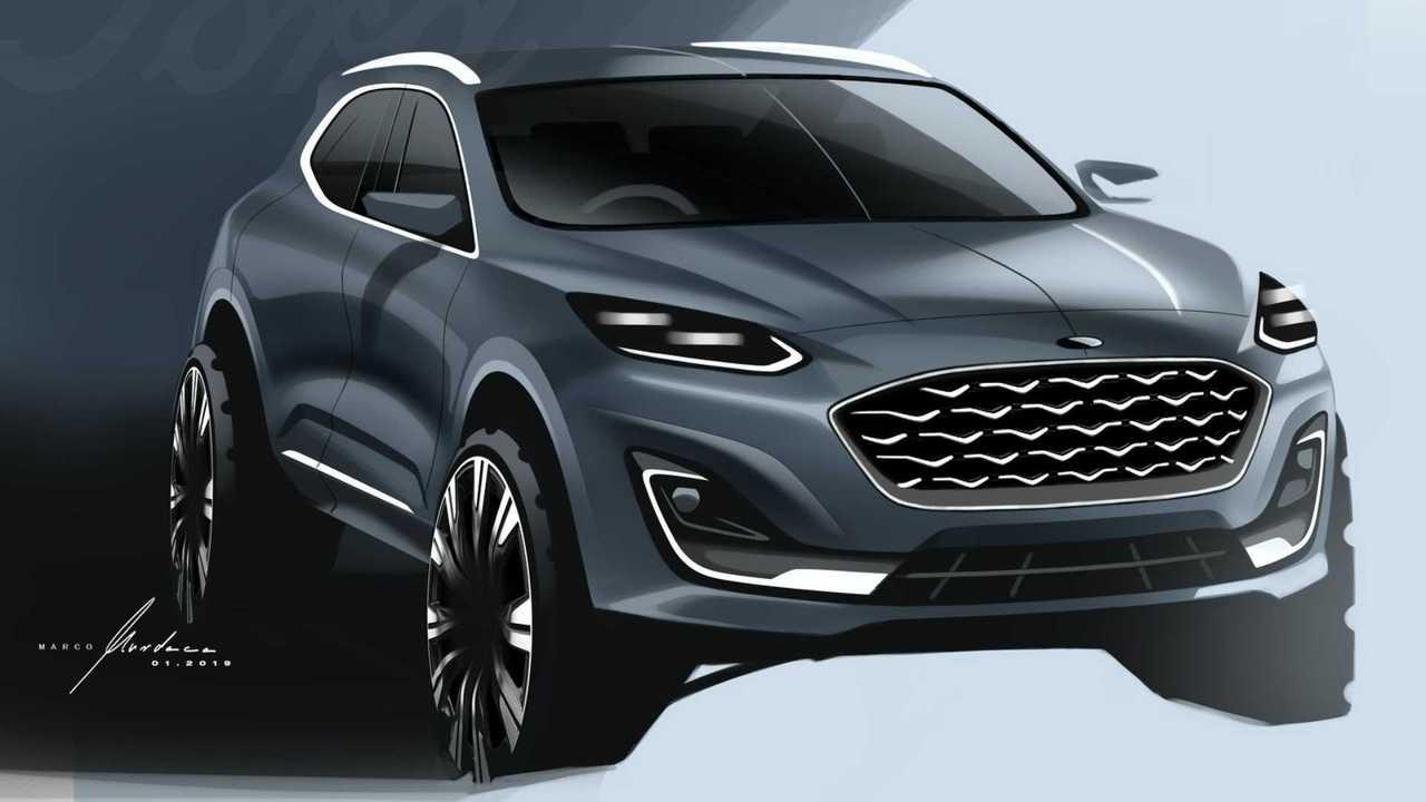 Ford Kuga 2020 sketch