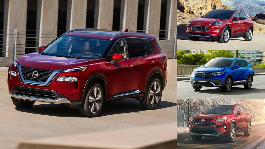 2021 Nissan Rogue Vs The Competition