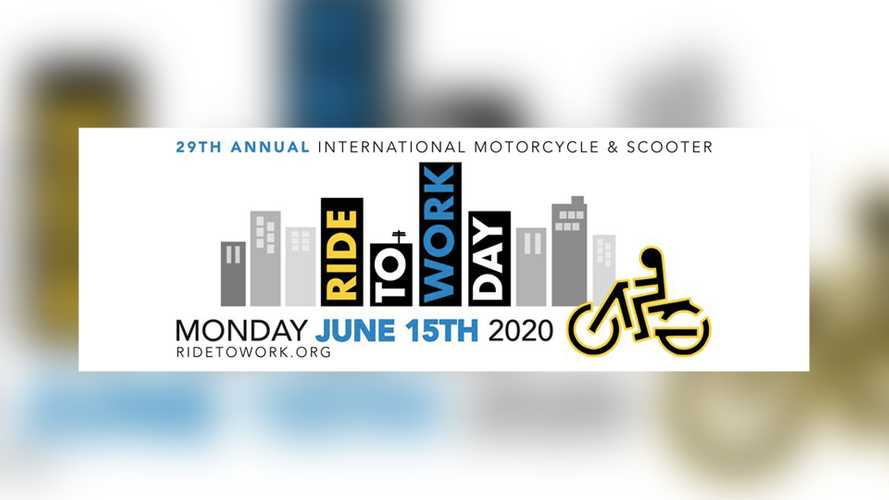 Gear Up, June 15, 2020, Is Ride To Work Day