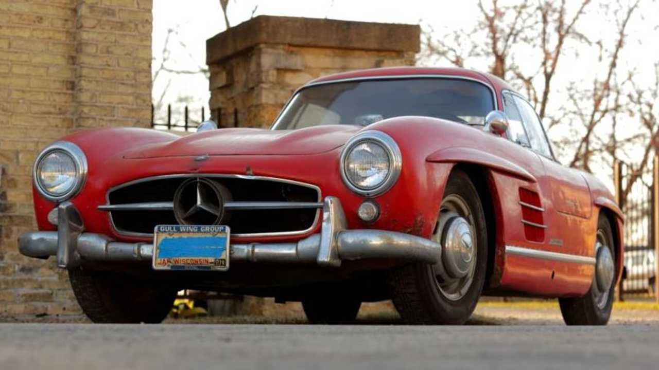 This $815k Mercedes-Benz 300SL Gullwing doesn't even run