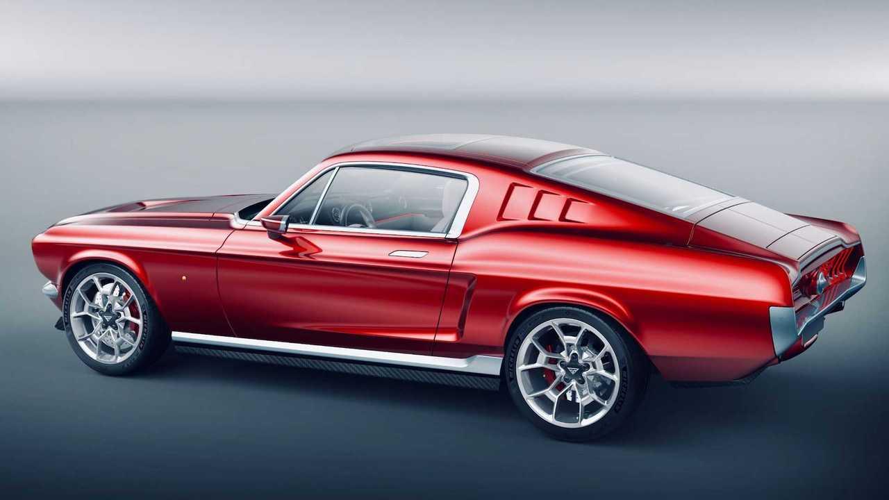 Aviar R67 All-Electric Mustang Concept: Lato