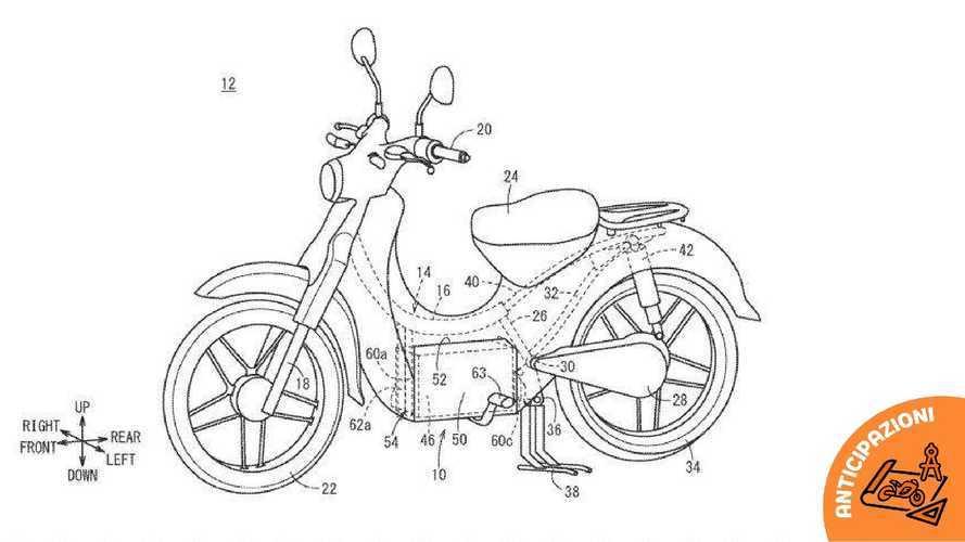 Honda al lavoro su una versione elettrica dello scooter Super Cub?